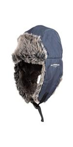 levis cold weather warm trapper hat faux fur adjustable chin strap