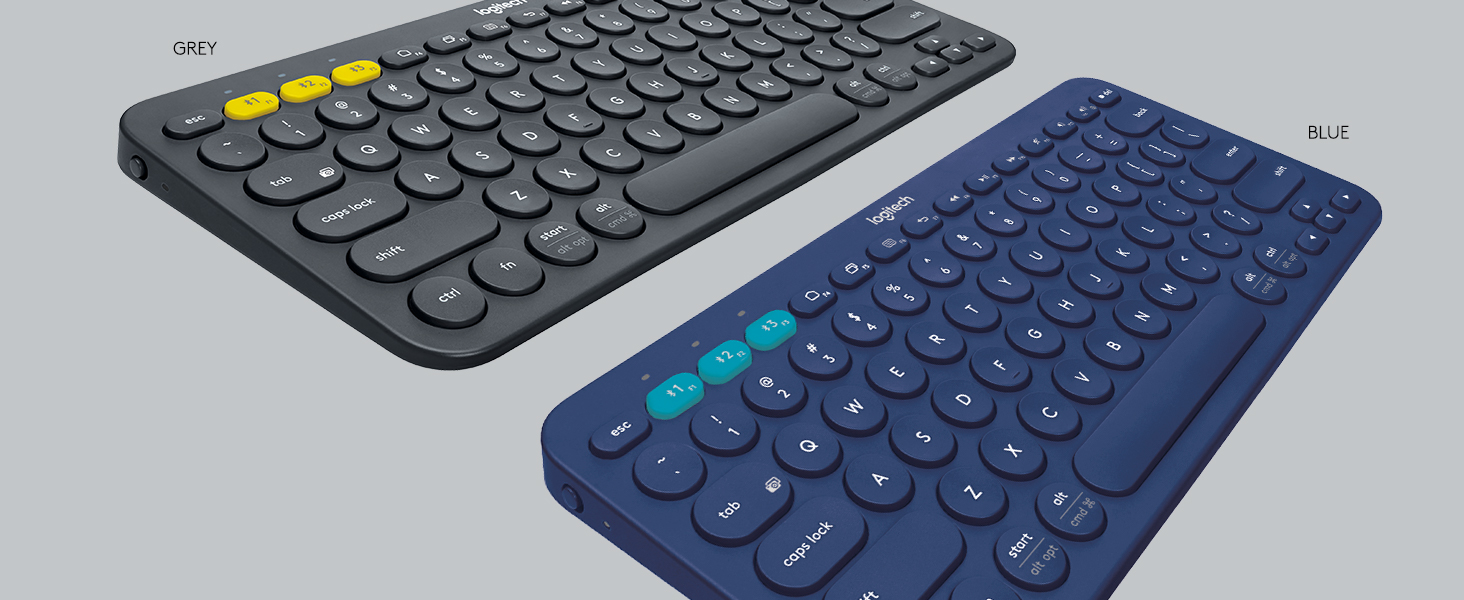 Logitech K380 Multi-Device Bluetooth Keyboard – Windows, Mac, Chrome OS,  Android, iPad, iPhone, Apple TV Compatible – with FLOW Cross-Computer