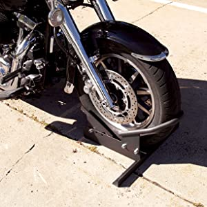 Extreme Max Standard Motorcycle Wheel Chock