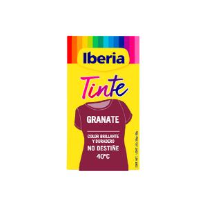 Iberia - Tinte Granate para ropa, 40°C
