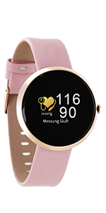 fitnessarmband elegant smartwatches damen uhr mit schrittzähler damen smart watch gold uhr rosegold