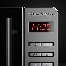 Cecotec Microondas ProClean 5010. Capacidad de 20l, Revestimiento ...