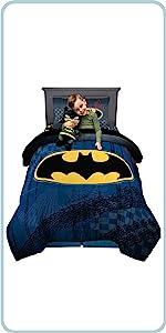 DC Comics Warner bros Batman kids bedding children bath and character accessories
