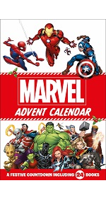 marvel, disney, advent calendar, spiderman, hulk