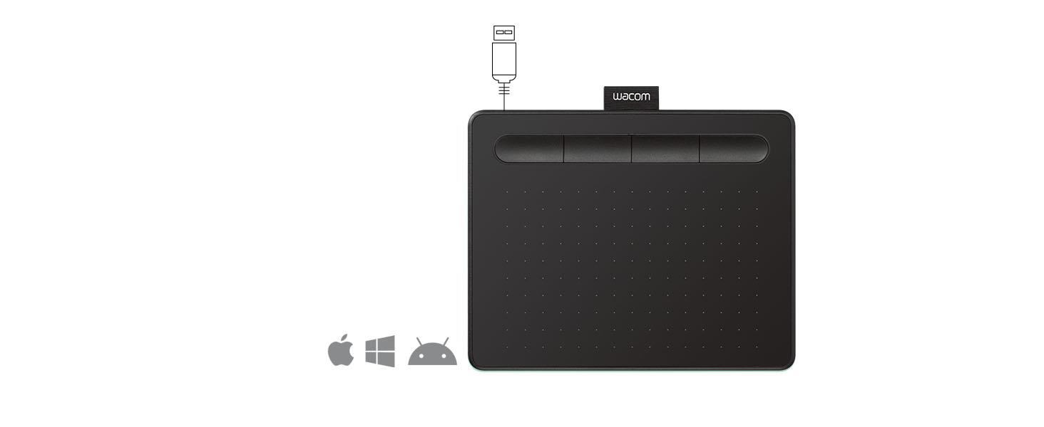android, wacom, intuos, art drawing tablet, mac, pc