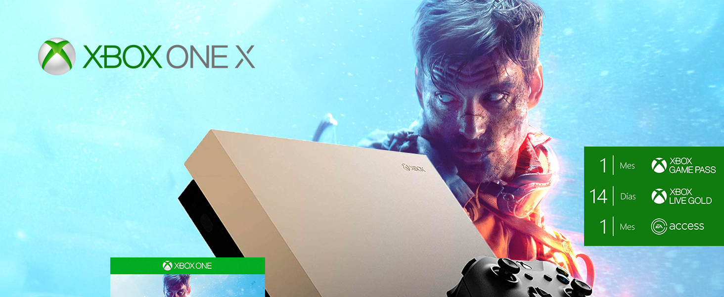 Microsoft Xbox One X - Consola 1 TB + Battlefield V: Amazon.es: Videojuegos