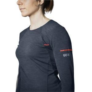 gore selected fabrics; gore running shirt womens