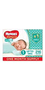 Huggies Ultimate Newborn Nappies