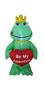 bzb goods valentine's inflatables inflatable airblown decor sunstar outdoor decoration gemmy blowup