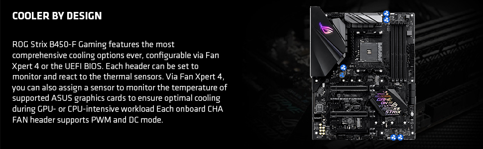 AMD Ryzen 3 2200G Processor with Radeon Vega 8 Graphics - Wraith Stealth  Cooler, and ASUS ROG STRIX B450-F Gaming Motherboard
