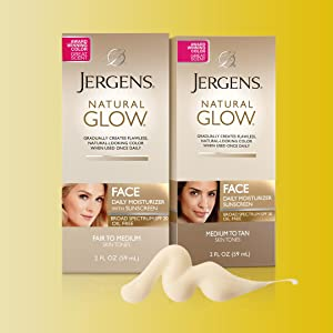 Jergens Natural Glow Daily Face Moisturizer Reviews