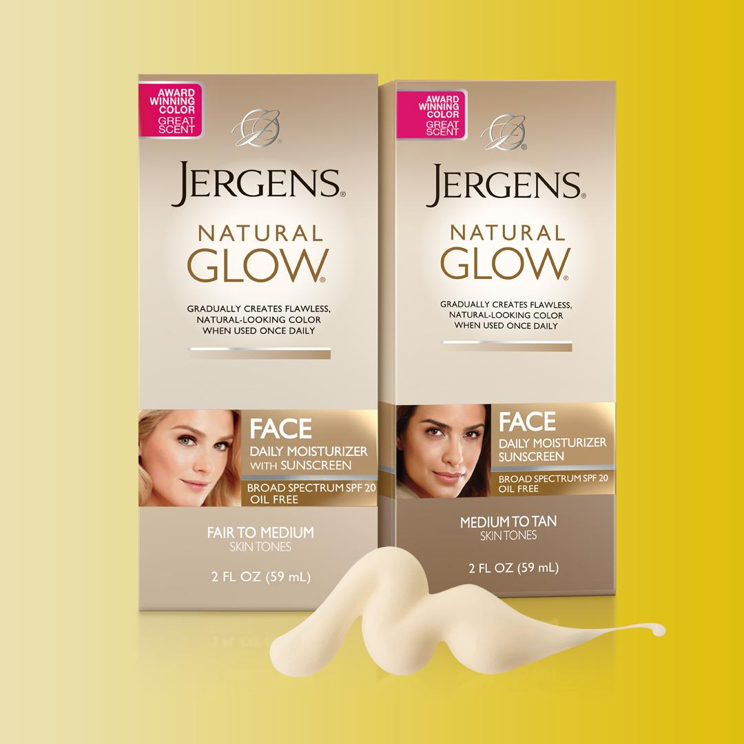 Can U Use Jergens Natural Glow On Your Face