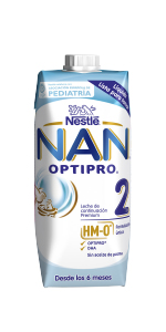 NAN OPTIPRO 2 - Leche de continuación en polvo - Fórmula para bebé - A partir de los 6 meses - 800g: Amazon.es: Alimentación y bebidas