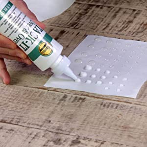 how to make glue dots