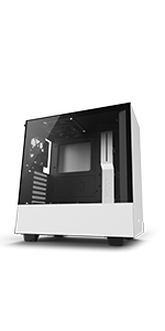 Amazon.com: NZXT H700 - ATX Mid-Tower PC Gaming Case - Tempered Glass Panel - Enhanced Cable Management System – Water-Cooling Ready - Black/Red: Computers ...