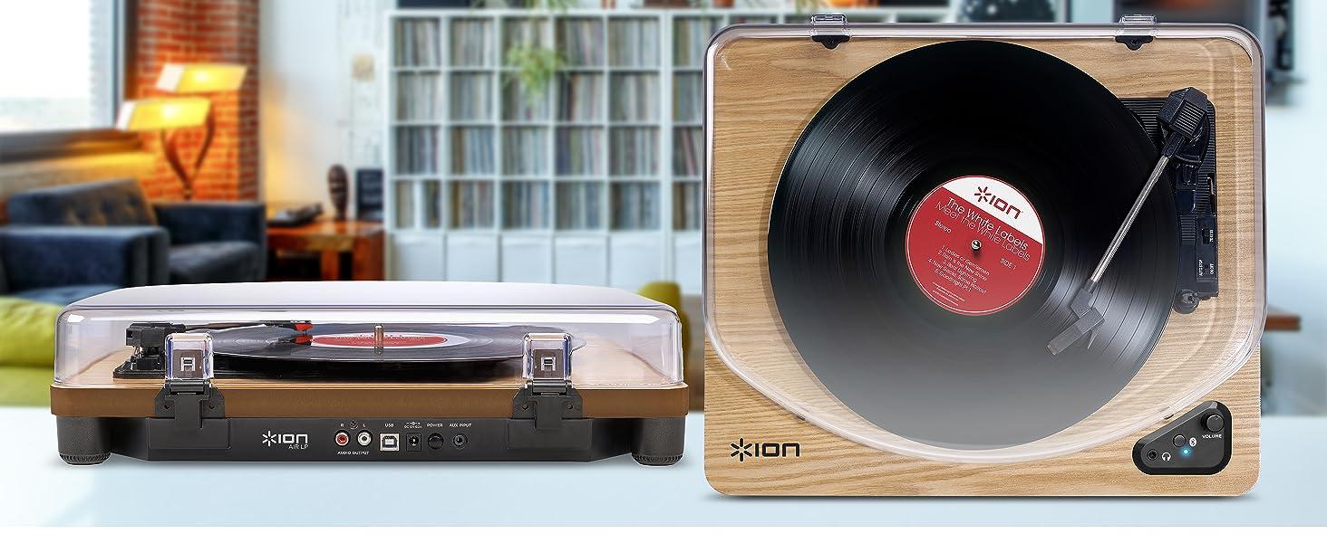Le top des meilleures platines vinyles en 2021 - ION Audio Air