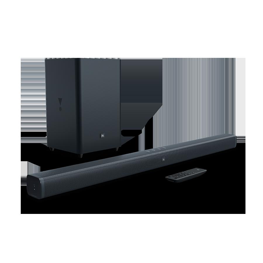 JBL Bar 2.1-Kanal-Soundbar mit kabellosem Subwoofer: Amazon.de ...