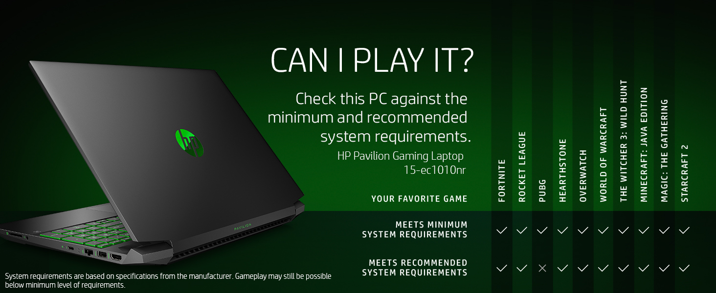 play it run it can check pc minimum recommended system requirements fortnite apex legends pubg
