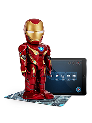 iron man, stem toy, robotics, programming, AR gaming toy, tech toy, app enabled
