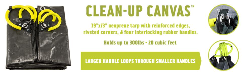 Amazon Com Allsop Home Amp Garden 31586 Clean Up Canvas