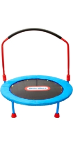 Little Tikes Light-Up 3-Foot Trampoline with Folding Handle