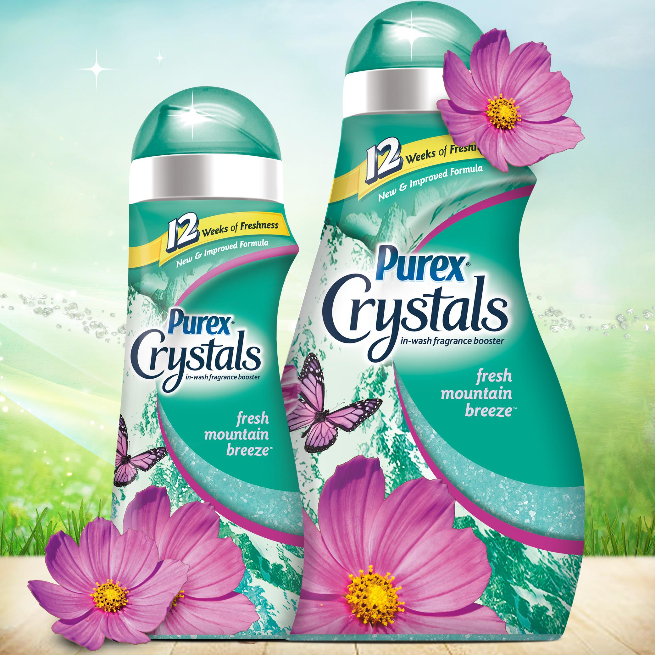 how to use purex crystals in wash fragrance booster