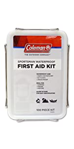 Coleman, boat, first, aid