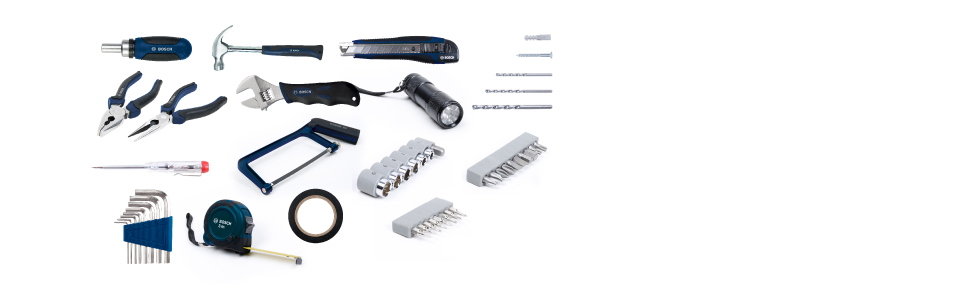108pieces, multifunctional, toolset, bosch, boschproffesional, powertools, toolkit,
