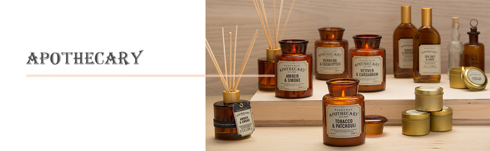 Apothecary Collection by Paddywax Candles