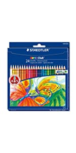 Noris Club coloured pencils