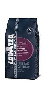 Lavazza Gran Espresso Whole Beans Medium Roast