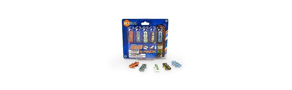 hexbug nano nitro 5 pack, five pack, nano five pack, nano, nano nitro, hexbug nano, hexbug nitro