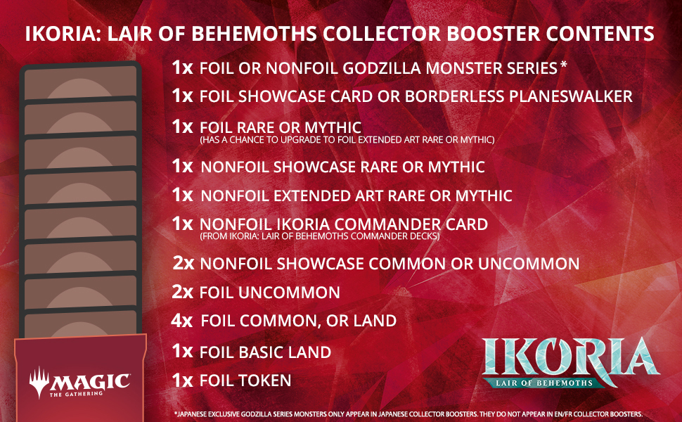 Collector Booster Contents Ikoria