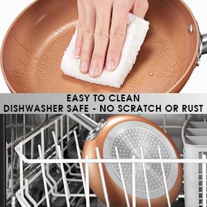 Fácil de limpiar - apto para lavavajillas