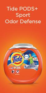 Tide PODS + Sport Odor Defense