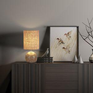 Amazon.com: Mosaico de vidrio lámpara de mesa 12.5