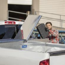 RigidCore Lids UWS EC10071 72-Inch Heavy-Wall Aluminum Gull Wing Truck Tool Box