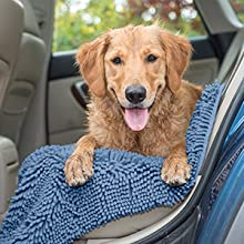furhaven; travel; car; vehicle; interior; seat; cover; protector; blue