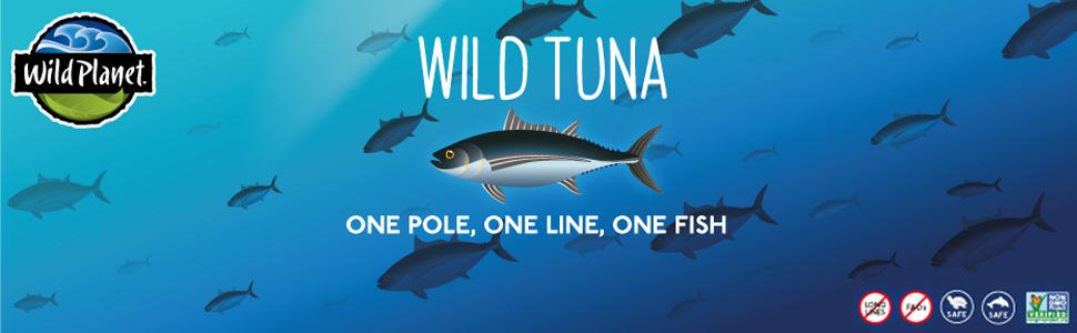 wild tuna. One pole, one line, one fish