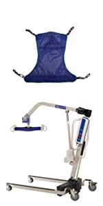 Invacare RPL450-1 with R111 Full Body Sling