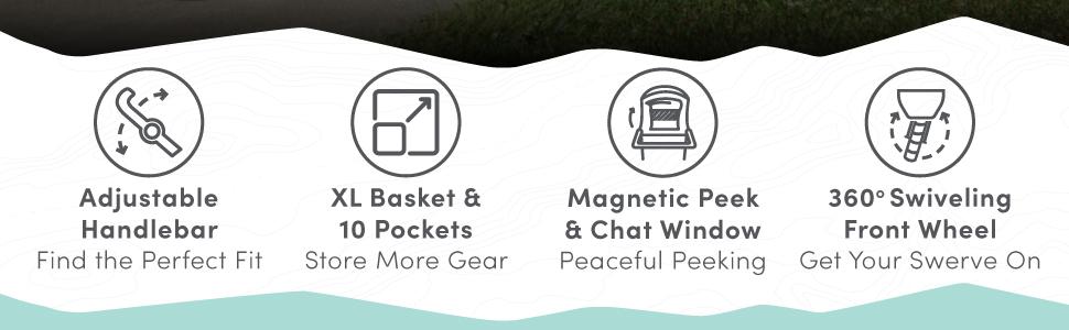 BOB Gear Flex 3.0 Duallie - Features