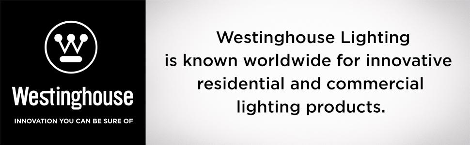 Westinghouse Lighting, Ceiling Fans, Light Fixtures, Light Bulbs