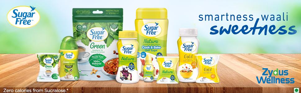 Sugarfree tablets, tablets without sugar, sugar free gold, sugar free powder