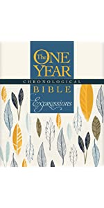 one year, daily devotional, softcover, chronological, order coloring bible, journaling, wide margins