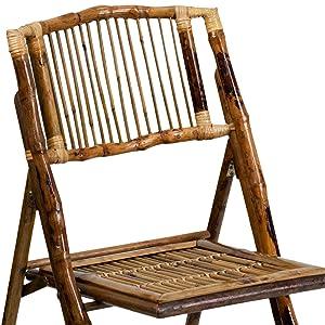 bamboo, bamboo folding chair