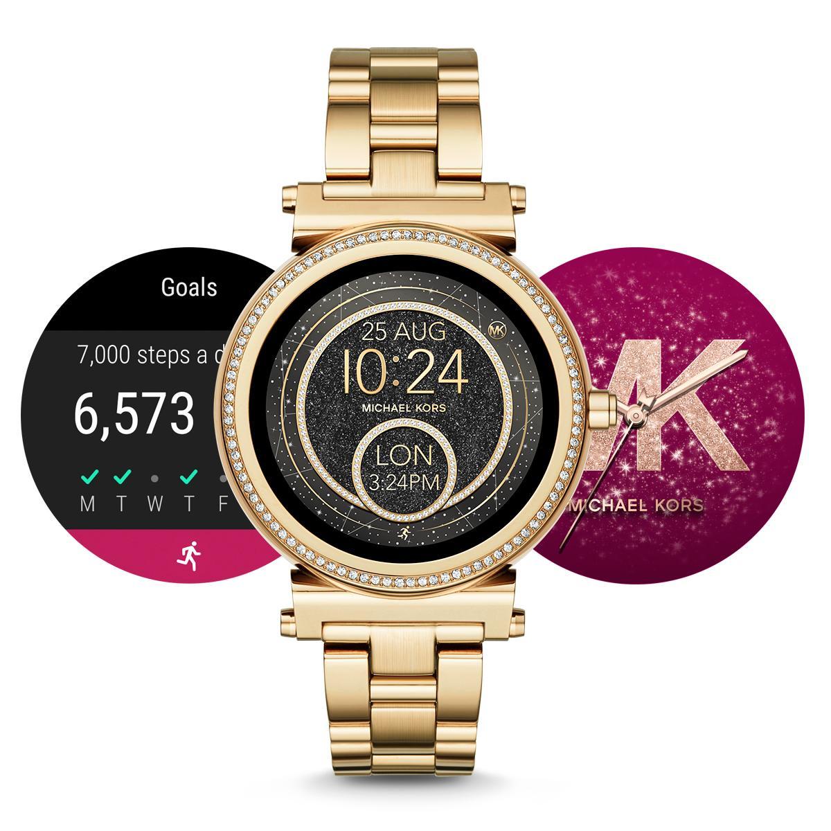 michael kors access smartwatch sofie gen 2 watches. Black Bedroom Furniture Sets. Home Design Ideas