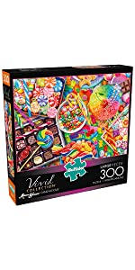 Candylicious - 300 Large Piece Jigsaw Puzzle
