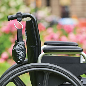 hooks for wheelchairs and rollators