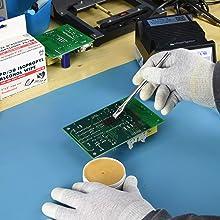 flux, apply, flow, bridges, solder, coating, brush, aoyue