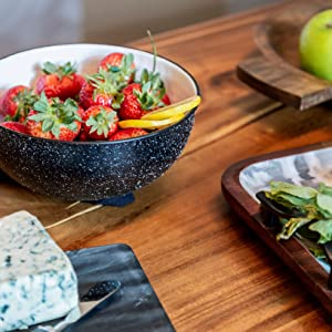 salad bowl soup pasta serving cheese board marble tray vegetable plate dough bowl charcuterie